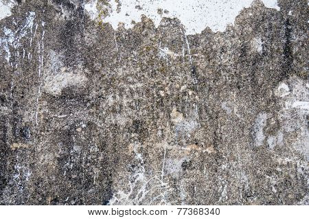 Old, dirty and scraped wall background
