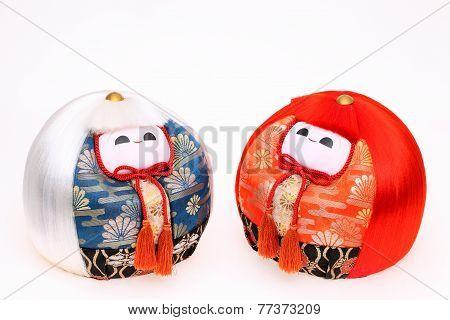 Japanese dolls for festival