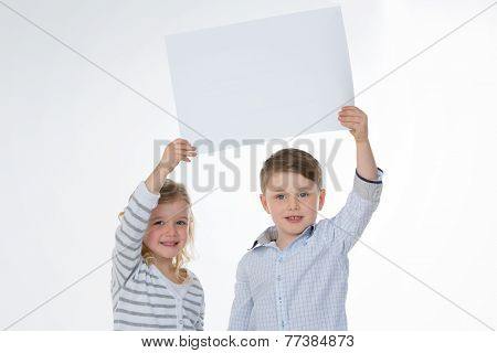 Girl And Boy Standing Together