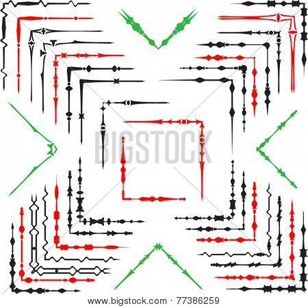 Corner Frame Border Design