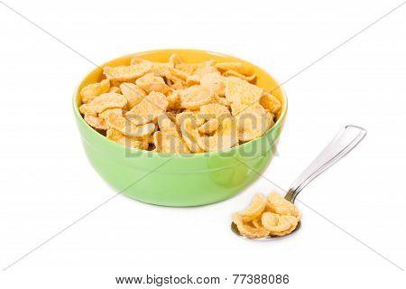 sugar-coated corn flakes