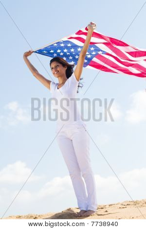 young womans american dream
