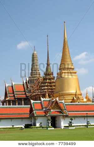 The Royal Palace In Bangkok,thailand