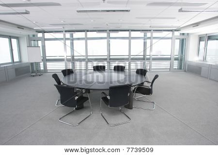 Conference Room With Armchairs