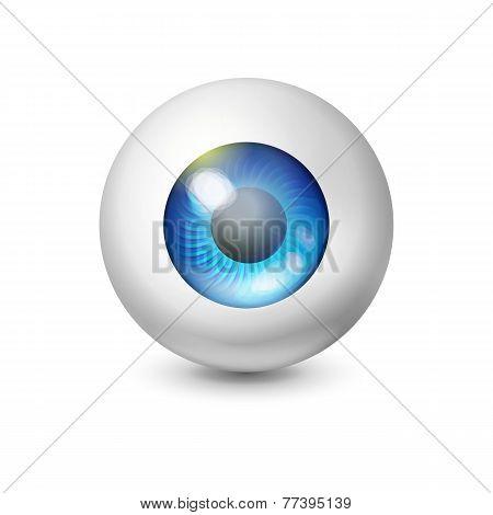 Blue Wathing Ball