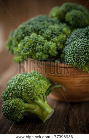 Fresh Brocoli Closeup