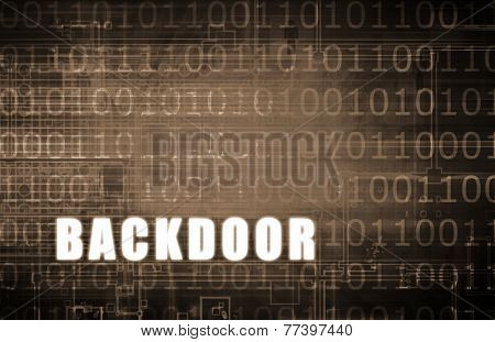 Backdoor on a Digital Binary Warning Abstract