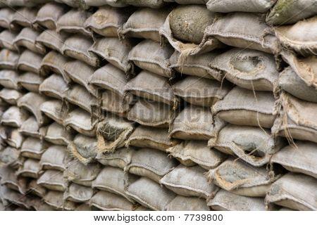 Stapled Sandbags
