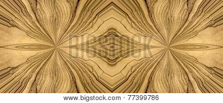 abstract design with zebra wood for background