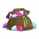 picture of gem  - Bag with gems - JPG