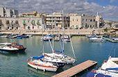 Giovinazzo touristic port. Apulia. poster