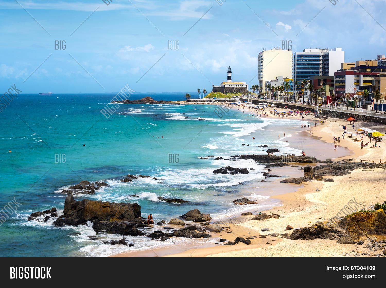 Пляжи в порту фото