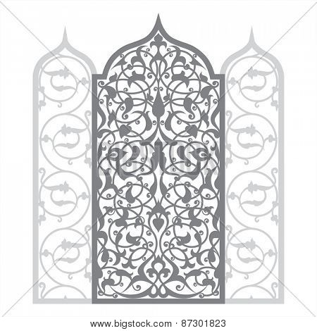 Arabian ornament vector illustration