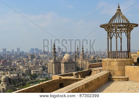 Cairo skyline as seen from the Citadel