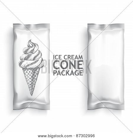 ice cream package