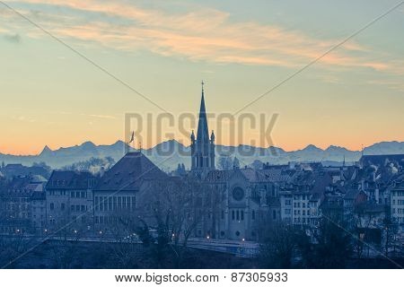Sunrise in Bern