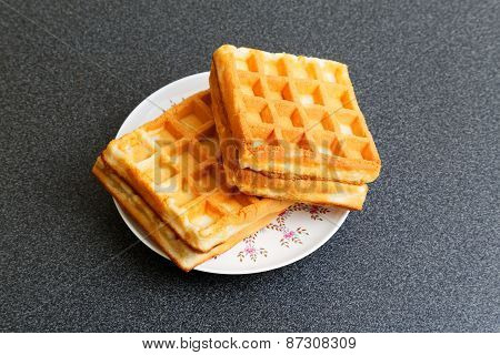 Wafers In A Saucer