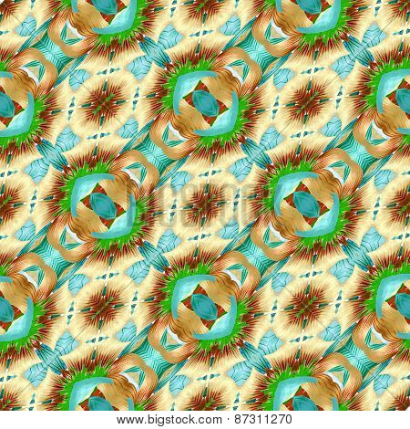 Colorful Modern Pattern Collage