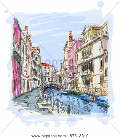 Venice - Fondamenta Rio Marin
