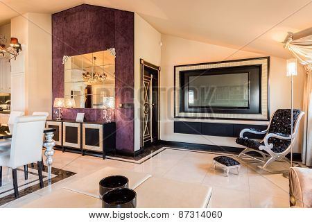 Modern Furniture In Beauty Apartment