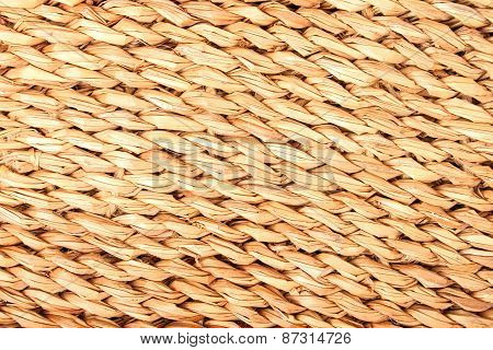 Jute Mat Background
