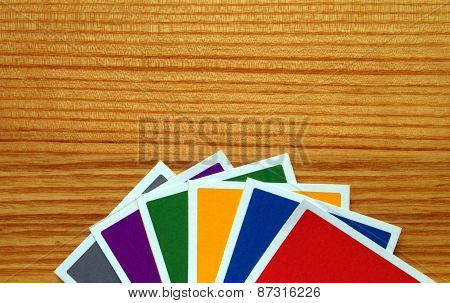Deck of Colored Cards - General Election