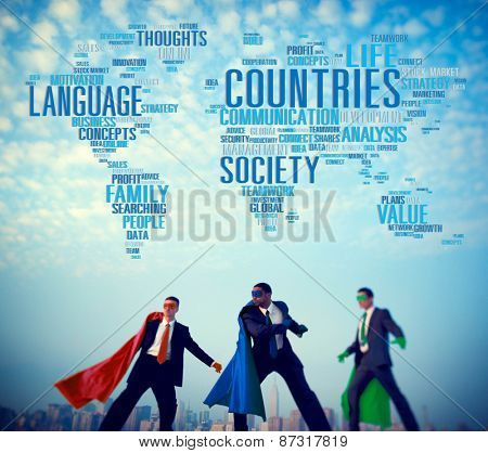 Countries Language Society Family International Concept