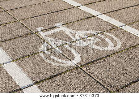 Symbol of bike.