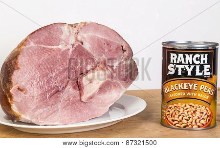 Ham And Blackeye Peas