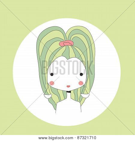 Horoscope Libra Sign, Girl Head