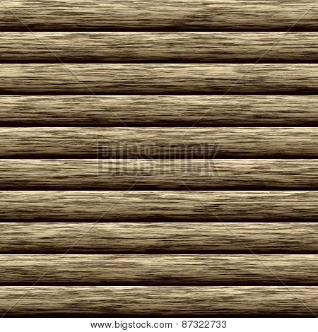 Log Wall Seamless Generated Texture