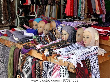 Countertop Arabic Bazaar In Jerusalem