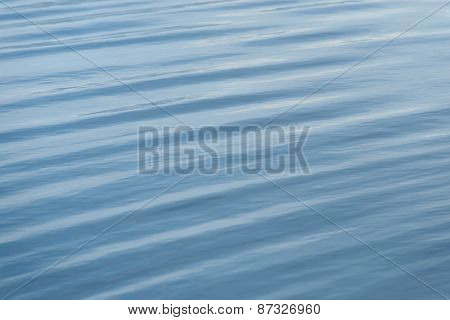 Water surface closeup