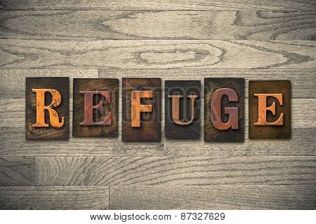 Refuge Wooden Letterpress Theme