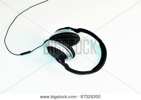 Headphones On White 3