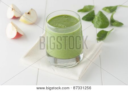 apple spinach smothie
