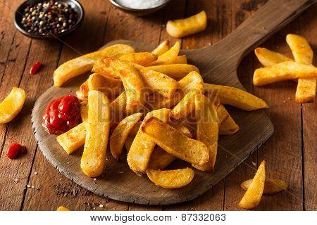 Homemade Salty Steak French Fries