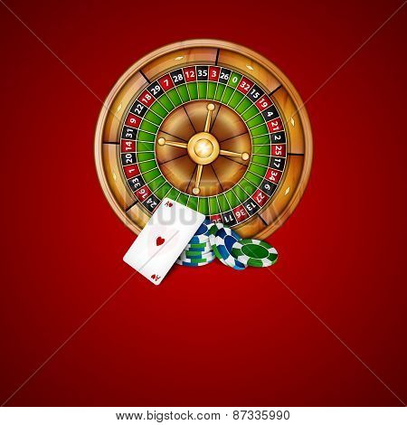 Chips and roulette