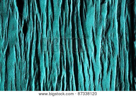 Wood Grain In Turquoise Blue Background