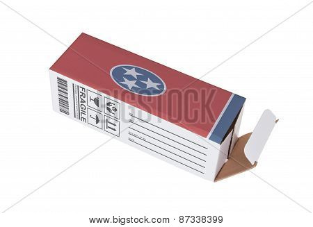 Concept Of Export - Product Of Tennessee