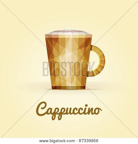 Cappuccino triangular logo