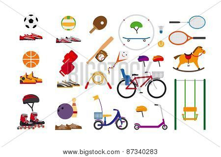 Childrens sports equipment