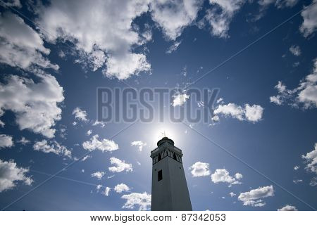 Sky Blue Lighthouse