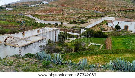 Ruin in Betancuria on Fuerteventura