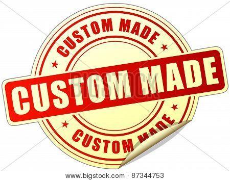 Custom Made Label