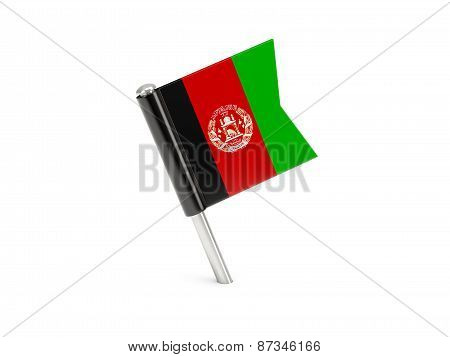 Flag Pin Of Afghanistan