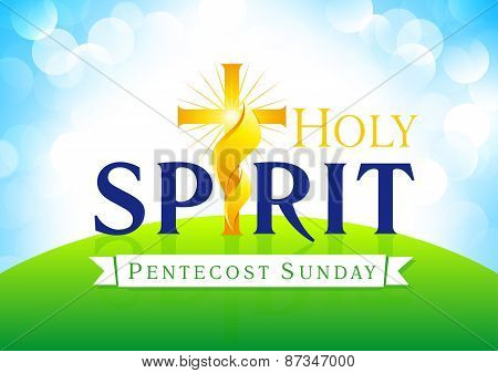 Holy Spirit sunday card