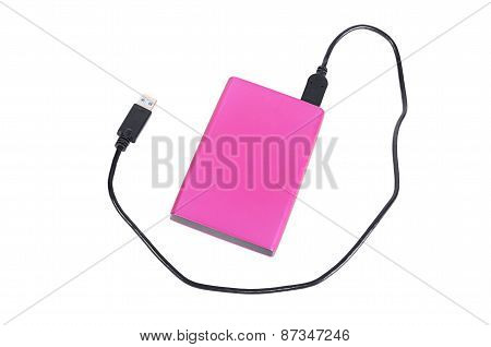 External Disk For Information Storage Isolated