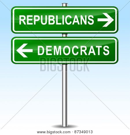 Republicans And Democrats Directions