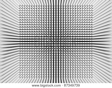 Digital Background With Invert Perspective 3D Square Pattern